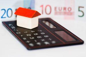 住宅ローンと宝くじ当選の効用関係