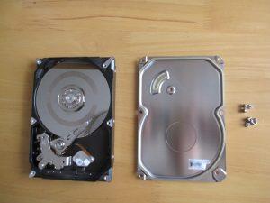 HDDの内部