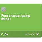 普通のつぶやき と IoT のつぶやき の違いについて ( Post a tweet using MESH )