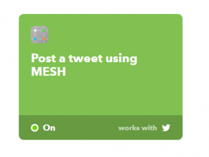 Post a Tweet using MESH