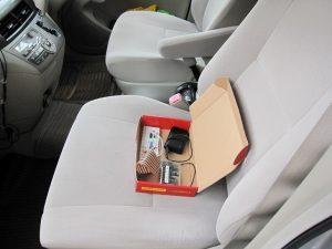 ラズベリーパイ 車中気温湿度観測(その1)