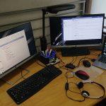 快適なテレワーク環境には、拡張ディスプレイ2つがお薦め!